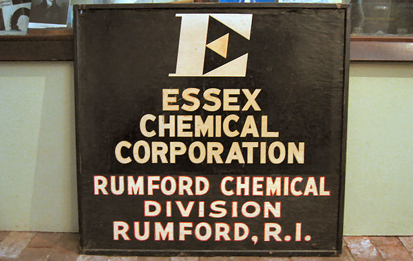 Essex Chemical Sign