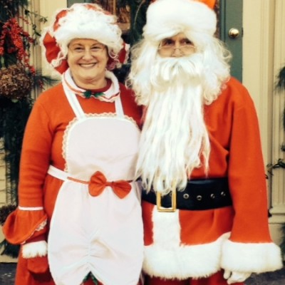 Santa and Mrs Clause pay a visit on Dec 14, 2014